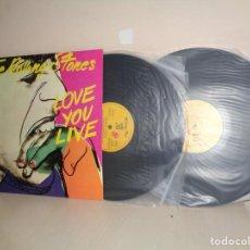 Dischi in vinile: THE ROLLING STONES - LOVE YOU LIVE-- 2LP-AÑO 1979- BCN -EMI ODEON-. Lote 209815793