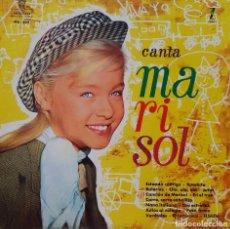 Discos de vinilo: MARISOL. CANTA. LP ZAFIRO EDICION AÑOS 80.. Lote 209839835