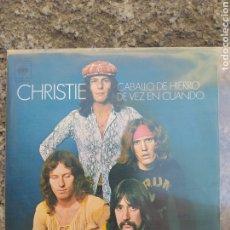 Discos de vinilo: CHRISTIE - CABALLO DE HIERRO - SINGLE VINILO PERFECTO ESTADO. Lote 209847873
