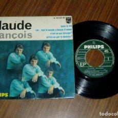 Discos de vinilo: CLAUDE FRANCOIS DISCO EP. Lote 209849357
