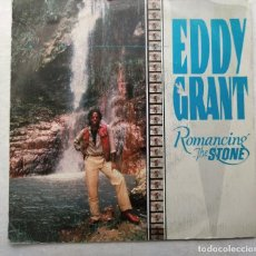 """Discos de vinilo: EDDY GRANT - ROMANCING THE STONE (7"""", SINGLE) (PORTRAIT) PRT A 4392 (D:VG+). Lote 209851680"""
