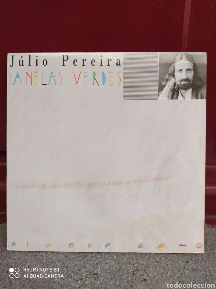 JÚLIO PEREIRA-JANELAS VERDES . EDICIÓN DE PORTUGAL 1990 (Música - Discos - LP Vinilo - Pop - Rock Extranjero de los 90 a la actualidad)
