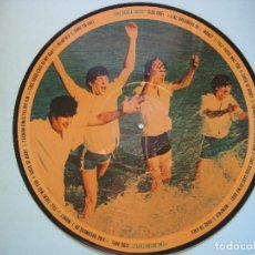 Discos de vinilo: THE BEATLES - DECCA TAPES (RARO Y DIFICIL PICTURE DISC - FOTODISCO 1983). Lote 209863347