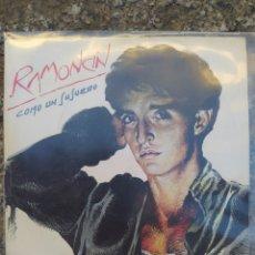 Discos de vinilo: RAMONCIN. COMO UN SUSURRO. SINGLE VINILO BUEN ESTADO. Lote 209867025