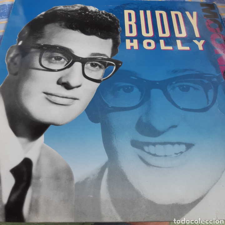BUDDY HOLLY 'MOONDREAMS' ED. UK 1989 (Música - Discos - LP Vinilo - Rock & Roll)