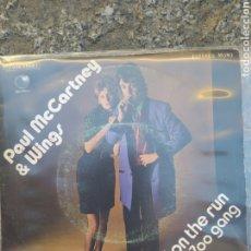 Discos de vinilo: PAUL MCCARTNEY & WINGS. BAND ON THE RUN. SINGLE VINILO BUEN ESTADO. Lote 209869802