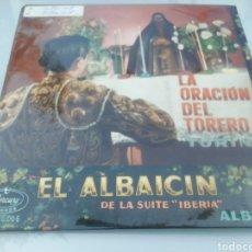 Discos de vinilo: LA ORACIÓN DEL TORERO. TURINA. SINGLE.. Lote 209877657