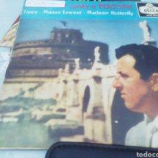 Discos de vinilo: BERGONZI CANTA A PUCCINI. SINGLE.. Lote 209878123