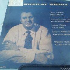 Discos de vinilo: NICOLAI GEDDA. SINGLE.. Lote 209878387