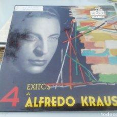 Discos de vinilo: 4 ÉXITOS DE ALFREDO KRAUS. SINGLE.. Lote 209878605