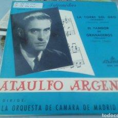 Discos de vinilo: PRELUDIOS E INTERMEDIOS. ATAULFO ARGENTA. SINGLE.. Lote 209878720