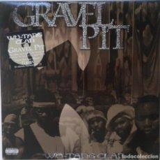 """Discos de vinilo: WU TANG CLAN - GRAVEL PIT [[ US HIP HOP / RAP ORIGINAL EXCLUSIVO ]] [MX 12"""" 45RPM] [2000]]. Lote 225011740"""