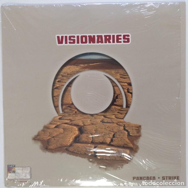 "VISIONARIES - PANGAEA / STRIKE BY DJ BABU [ US HIP HOP / RAP EXCLUSIVO ] [[MX 12"" 45RPM]] [[2003]] (Música - Discos de Vinilo - Maxi Singles - Rap / Hip Hop)"