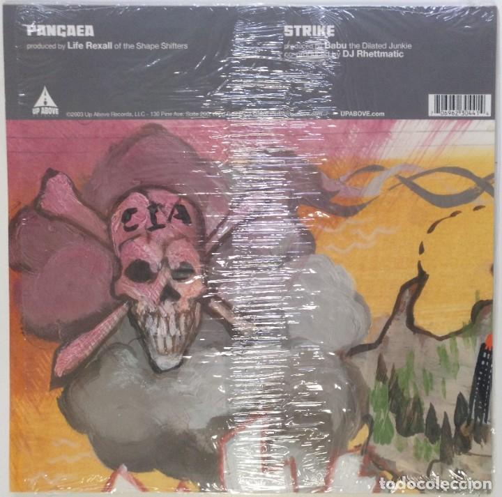 "Discos de vinilo: VISIONARIES - PANGAEA / STRIKE by DJ BABU [ US HIP HOP / RAP EXCLUSIVO ] [[MX 12"" 45RPM]] [[2003]] - Foto 2 - 209879945"