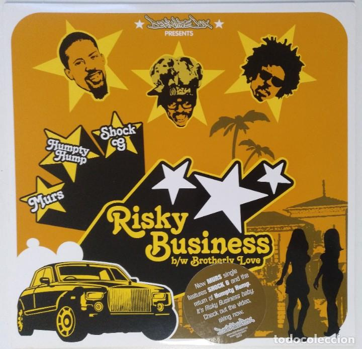 "MURS - RISKY BUSINESS / BROTHERLY [ US HIP HOP / RAP ORIGINAL EXCLUSIVO ] [[MX 12"" 45RPM]] [[2003]] (Música - Discos de Vinilo - Maxi Singles - Rap / Hip Hop)"