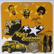 "Discos de vinilo: MURS - RISKY BUSINESS / BROTHERLY [ US HIP HOP / RAP ORIGINAL EXCLUSIVO ] [[MX 12"" 45RPM]] [[2003]]. Lote 209880280"