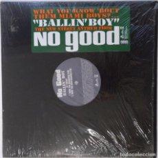 """Discos de vinilo: NO GOOD - BALLIN' BOY [ US HIP HOP / RAP ORIGINAL EXCLUSIVO ] [[MX 12"""" 45RPM]] [[2002]]. Lote 209880505"""