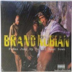 """Discos de vinilo: BRAND NUBIAN - PUNKS JUMP UP TO GET [ US HIP HOP / RAP ORIGINAL EXCLUSIVO ] [MX 12"""" 45RPM] [[1992]]. Lote 209880652"""