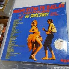 Discos de vinilo: MUCHO RITMO PA' BAILAR. ROMÁNTICOS DEL CARIBE. 50 SUCESOS¡. Lote 209880998