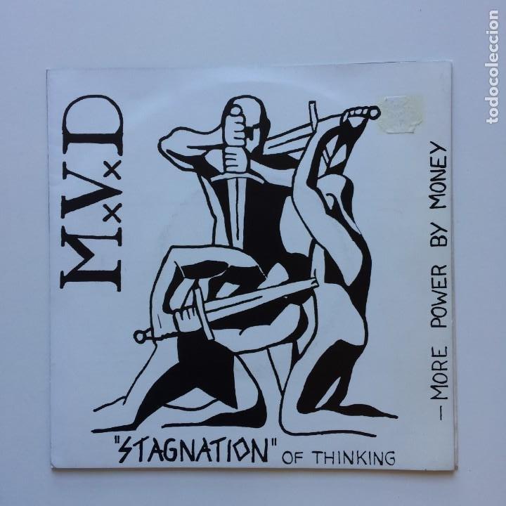 M.V.D – STAGNATION OF THINKING GERMANY 1992 RODEL RECORDS (Música - Discos de Vinilo - EPs - Punk - Hard Core)