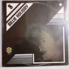 Discos de vinilo: BILLIE HOLIDAY. 8... CON SWING. 1982 ESPAÑA, 50.1648.. Lote 209884240