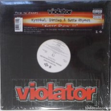 "Discos de vinilo: VIOLATOR - BUSTA RHYMES, MYSTIKAL & DIRTBAG [HIP HOP / RAP ORIGINAL EXCLUSIVO] [MX 12"" 45RPM] [2003]. Lote 209884522"