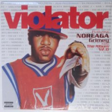 "Discos de vinilo: VIOLATOR FEATURING NOREAGA - GRIMEY [HIP HOP / RAP ORIGINAL EXCLUSIVO] [MX 12"" 45RPM] [2001]. Lote 209884593"
