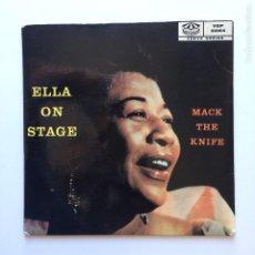 Discos de vinilo: ELLA FITZGERALD – ELLA ON STAGE SWEDEN KARUSELL. Lote 209884677