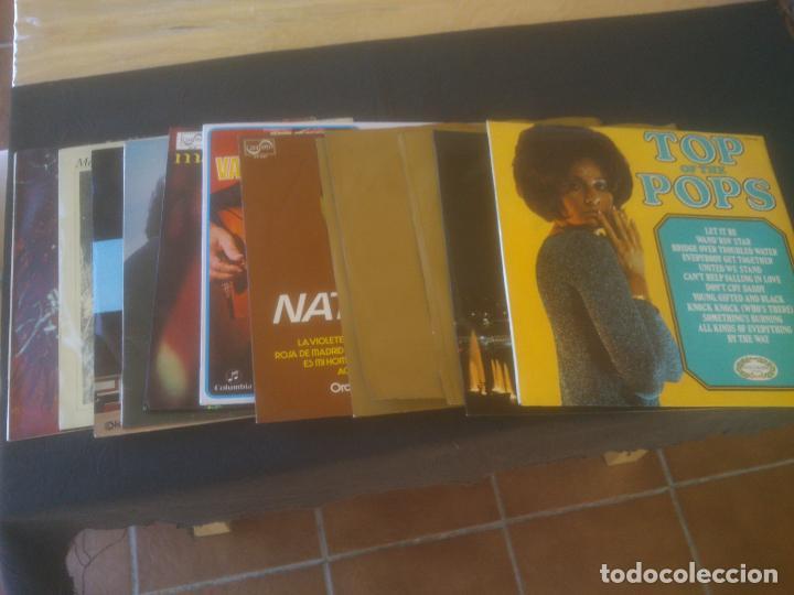 LOTE 12 DISCOS SEGUN FOTOS (Música - Discos - LP Vinilo - Otros estilos)