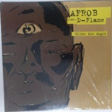 "Discos de vinilo: AFROB FT D-FLAME - ÖFFNE DIE AUG [ GERMANY HIP HOP / RAP EDICIÓN EXCLUSIVA ] [MX 12"" 45RPM] [[2001]]. Lote 209886027"