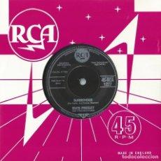 Discos de vinilo: ELVIS PRESLEY 7 SINGLE SURRENDER / LONELY MAN RCA-1227(COMPRA MINIMA 15 EUROS). Lote 209886913