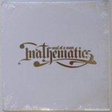 """Discos de vinilo: MATHEMATICS - SOUL OF A MAN INSTRUMENTALES [HIP HOP] [EDICIÓN ESPECIAL LIMITADA 3LP 12"""" 33RPM] 2006. Lote 209886942"""