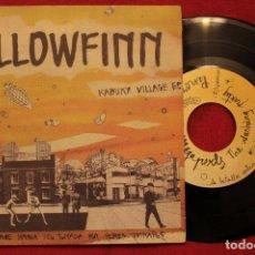 "Discos de vinilo: 7"" YELLOWFINN - KABUKY VILLAGE EP - SUBTERFUGE 21-043 - GATEFOLD - 1994 (EX-/EX-). Lote 209887046"