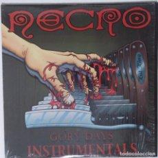 """Discos de vinilo: NECRO - GORY DAYS INSTRUMENTALES [US HIP HOP] [EDICIÓN ESPECIAL LIMITADA 2LP 12"""" 33RPM] 2003. Lote 209913595"""