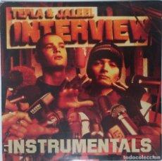 """Discos de vinilo: TEFLA & JALEEL - INTERVIEW INSTRUMENTALES [GE HIP HOP] [EDICIÓN SPECIAL LIMITADA 2LP 12"""" 33RPM] 2001. Lote 209914121"""