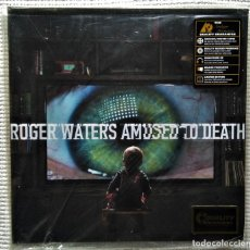"Discos de vinilo: ROGER WATERS - "" AMUSED TO DEATH "" 2 LP 200GR. LIMITED EDITION 2015 EU SEALED. Lote 209914355"