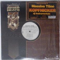 """Discos de vinilo: MASSIVE TÖNE - KOPFNICKER INSTRUMENTALES [GE HIP HOP] [EDICIÓN ESPECIAL LIMITADA 2LP 12"""" 33RPM] 1996. Lote 209914957"""