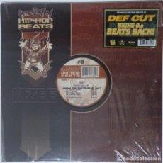 """Discos de vinilo: DEF CUT - BRING THE BEATS INSTRUMENTALES [GE HIP HOP] [EDICIÓN ESPECIAL LIMITADA LP 12"""" 33RPM] 2001. Lote 209915433"""
