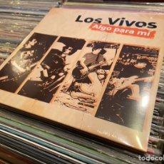 Discos de vinilo: LOS VIVOS LP ALGO PARA MI VALENCIA PUNK ROCK NO TOMORROW RECORDS. Lote 209918175