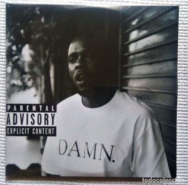 "KENDRICK LAMAR - "" DAMN "" 2 LP CLEAR VINYL COLLECTORS EDITION NUMBERED EU 2018 SEALED (Música - Discos - LP Vinilo - Rap / Hip Hop)"