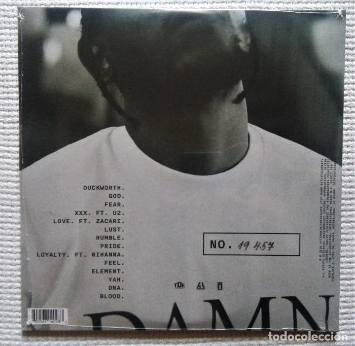 "Discos de vinilo: KENDRICK LAMAR - "" DAMN "" 2 LP CLEAR VINYL COLLECTORS EDITION NUMBERED EU 2018 SEALED - Foto 2 - 209918916"