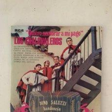 Discos de vinilo: QUIERO NOMBRAR A MI PAGO- LOS CHALCHALEROS. Lote 209920325