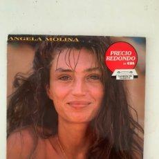 Discos de vinilo: ANGELA MOLINA- CON LAS DEFENSAS ROTAS. Lote 209921155