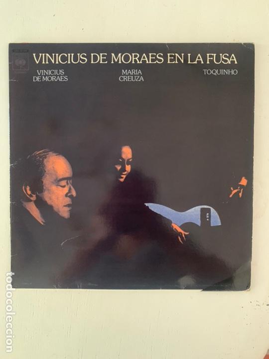 VINICIUS DE MORALES EN LA FUSA (Música - Discos - LP Vinilo - Grupos y Solistas de latinoamérica)