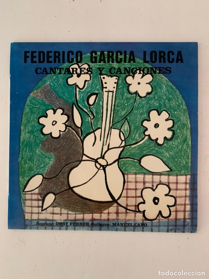 FEDERICO GARCIA LORCA- CANTARES Y CANCIONES (Música - Discos - LP Vinilo - Solistas Españoles de los 70 a la actualidad)
