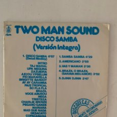 Discos de vinilo: TWO MAN SOUND- DISCO SAMBA. Lote 209923545