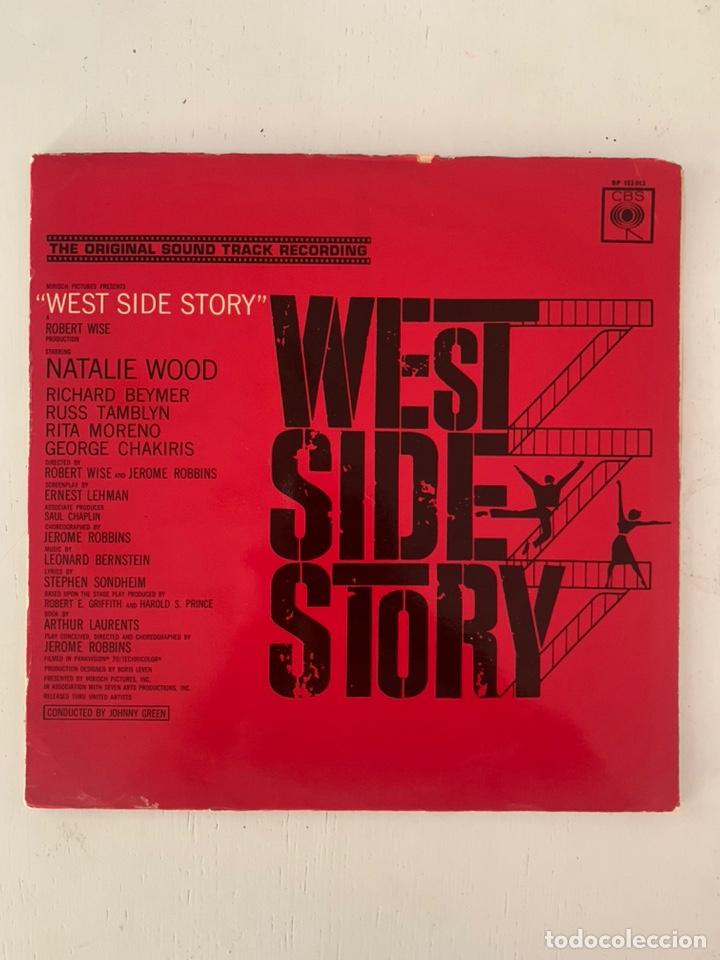 Discos de vinilo: WEST SIDE STORY- THE ORIGINAL SOUND TRACK RECORDING - Foto 2 - 209923867