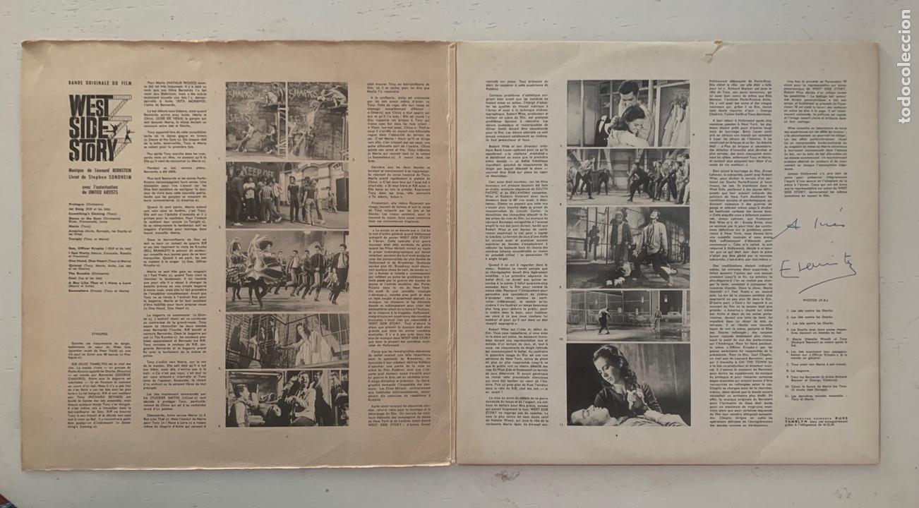 Discos de vinilo: WEST SIDE STORY- THE ORIGINAL SOUND TRACK RECORDING - Foto 3 - 209923867