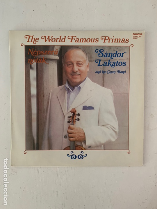 SÁNDOR LAKATOS AND HIS GIPSY BAND ‎– THE WORLD FAMOUS PRIMAS (Música - Discos - LP Vinilo - Country y Folk)