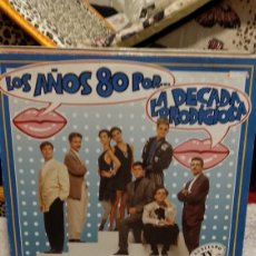 Discos de vinilo: LA DÉCADA PRODIGIOSA LOS 80. Lote 209926975
